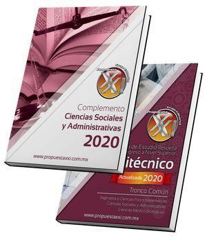 PAQ. GUÍA DE ESTUDIO PARA INGRESO AL ÁREA CIENCIAS SOCIALES Y ADMINISTRATIVAS DEL POLITÉCNICO