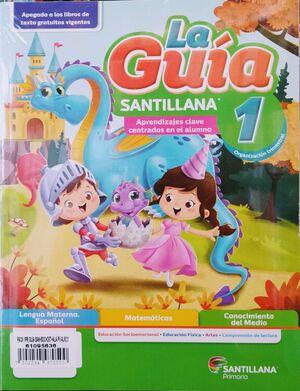 PACK 1 GUÍA SANTILLANA+SOCIOEMOCIONAL+DETECTIVES+ALAS PAPEL