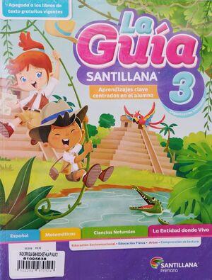 PACK 3 GUÍA SANTILLANA+SOCIOEMOCIONAL+DETECTIVES+ALAS PAPEL