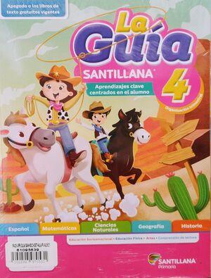 PACK 4 GUÍA SANTILLANA+SOCIOEMOCIONAL+DETECTIVES+ALAS PAPEL