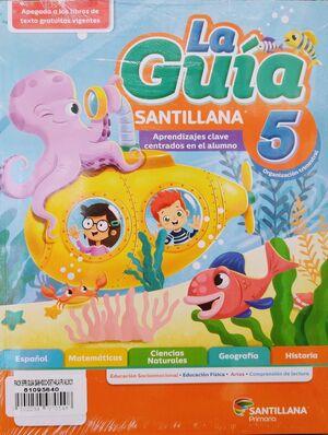 PACK 5 GUÍA SANTILLANA+SOCIOEMOCIONAL+DETECTIVES+ALAS PAPEL