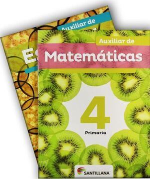 PACK AUXILIAR DE ESPAÑOL Y MATEMÁTICAS 4