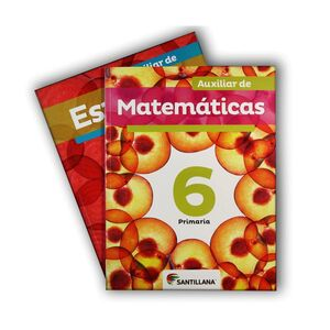 PACK AUXILIAR DE ESPAÑOL Y MATEMÁTICAS 6