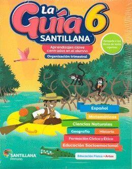 PACK GUÍA SANTILLANA 6 PRIMARIA + SOCIEMOCIONAL + DETECTIVES + ALAS DE PAPEL