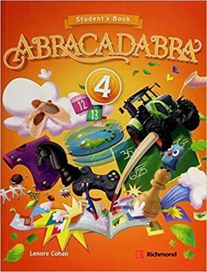 ABRACADABRA 4 PACK  STUDENTS + CD + ACTIVITY BOOK