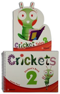 PACK CRICKETS 2 STUDENTS BOOK