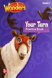 WONDERS 5 YOUR TURN PRACTICE BOOK