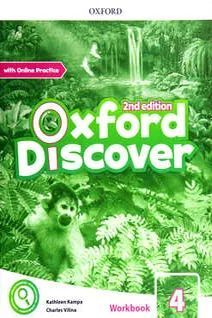 OXFORD DISCOVER 4 WORKBOOK WITH ON LINE PRACTICE PACK