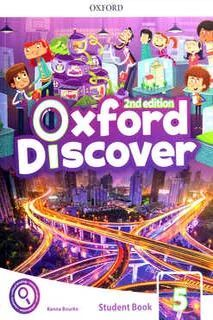OXFORD DISCOVER 5 STUDENTS BOOK WITH APP PACK