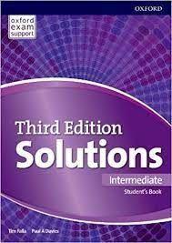 SOLUTIONS INTERMEDIATE SUDENTS BOOK & ONLINE PRACTICE PACK