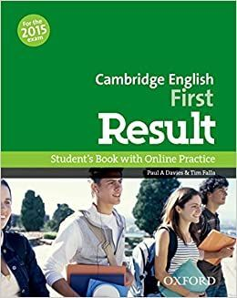 CAMBRIDGE ENGLISH FIRST RESULT STUDENTS BOOK WITH ONLINE PRACTICE