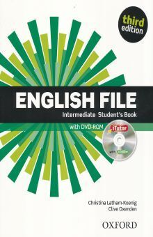 ENGLISH FILE INTERMEDIATE STUDENTS BOOK AND ITUTOR PACK