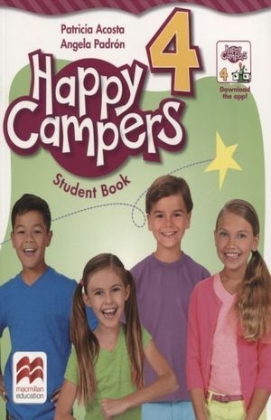 HAPPY CAMPERS 4 STUDENT BOOK