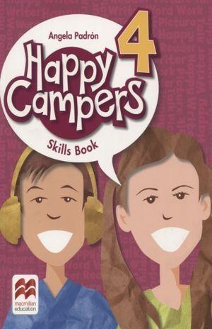 HAPPY CAMPERS 4 SKILLS BOOK