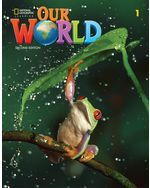 OUR WORLD BRE 1 STUDENTS BOOK + OLP PAC