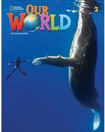 OUR WORLD BRE 2 STUDENTS BOOK + OLP PAC
