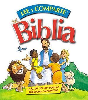 BIBLIA LEE Y COMPARTE, MANOS PEQUEÑAS
