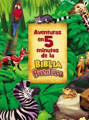AVENTURA EN 5 MINUTOS DE LA BIBLIA AVENTURAS