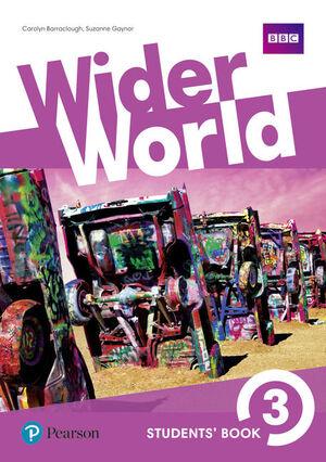 WIDER WORLD 3 STUDENTS BOOK
