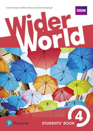 WIDER WORLD 4 STUDENTS BOOK