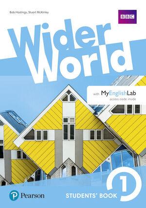 WIDER WORLD 1 WORKBOOK WITH ONLINE HOMEWORK PACK