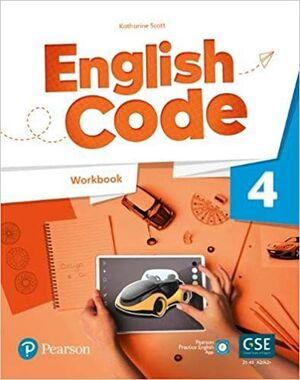 ENGLISH CODE AMERICAN 4 WORKBOOK
