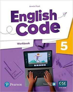 ENGLISH CODE AMERICAN 5 WORKBOOK