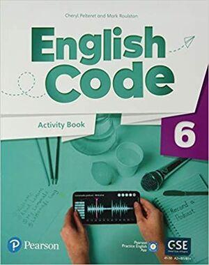 ENGLISH CODE BRITISH 6 ACTIVITY BOOK