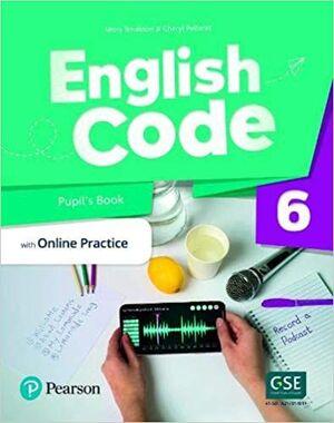 ENGLISH CODE BRITISH 6 PUPILS WITH ONLINE PRACTICE & DIGITAL RESOURCES