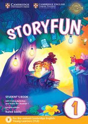 STORYFUN FOR STARTERS 1 STUDENTS BOOK WITH ONLINE ACTIVITIES AND HOME FUN BOOKLET