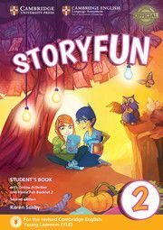 STORYFUN FOR STARTERS 2 STUDENTS BOOK WITH ONLINE ACTIVITIES AND HOME FUN BOOKLET