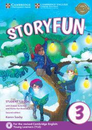 STORYFUN FOR MOVERS 3 STUDENTS BOOK WITH ONLINE ACTIVITIES AND HOME FUN BOOKLET