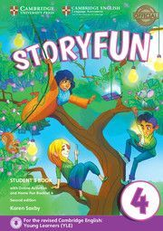 STORYFUN FOR MOVERS 4 STUDENTS BOOK WITH ONLINE ACTIVITIES AND HOME FUN BOOKLET