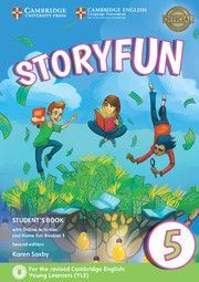 STORYFUN FOR FLYERS 5 STUDENTS BOOK WITH ONLINE ACTIVITIES AND HOME FUN BOOKLET