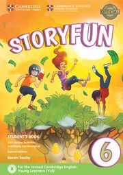 STORYFUN FOR FLYERS 6 STUDENTS BOOK WITH ONLINE ACTIVITIES AND HOME FUN BOOKLET