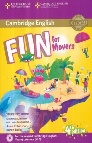 FUN FOR MOVERS STUDENTS BOOK WITH HOME FUN BOOKLET AND ONLINE ACTIVITIES
