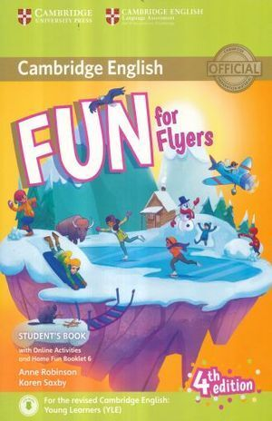 FUN FOR FLYERS STUDENTS BOOK WITH HOME FUN BOOKLET AND ONLINE ACTIVITIES