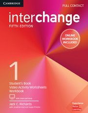 INTERCHANGE 1 FULL CONTACT WITH ONLINE SELF-STUDY AND ONLINE WORKBOOK