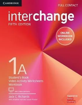 INTERCHANGE 1A FULL CONTACT WITH ONLINE SELF STUDY AND ONLINE WORKBOOK