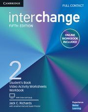 INTERCHANGE 2 FULL CONTACT WHIT ONLINE SELFT-STUDY AND ONLINE WORKBOOK