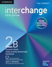 INTERCHANGE 2B FULL CONTACT WITH ONLINE SELF STUDY AND ONLINE WORKBOOK