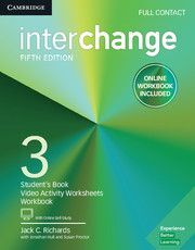 INTERCHANGE FULL CONTACT WITH ONLINE SELF-STUDY AND ONLINE WORKBOOK 3