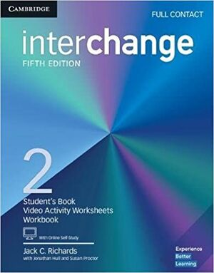 INTERCHANGE 2 FULL CONTACT WITH ONLINE SELF STUDY