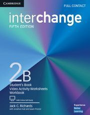 INTERCHANGE 2B FULL CONTACT WITH ONLINE SELF STUDY
