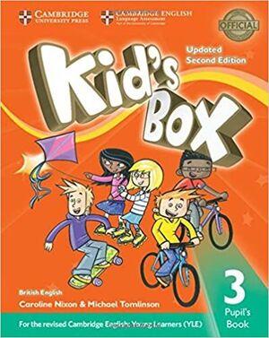 KID'S BOX 3 PUPIL'S BOOK EXAM UPDATE
