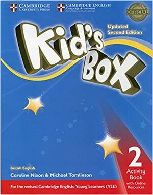 KID'S BOX 2 ACTIVITY BOOK WITH ONLINE RESOURCES EXAM UPDATE