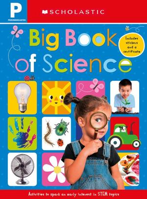 EARLY LEARNERS: BIG BOOK OF SCIENCE WORKBOOK