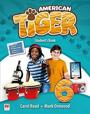 AMERICAN TIGER 6 STUDENTS BOOK