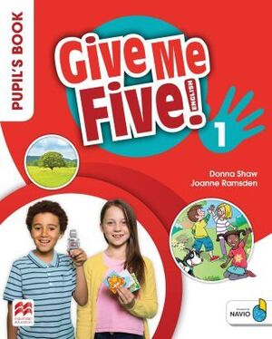 GIVE ME FIVE 1 PUPIL'S BOOK PACK