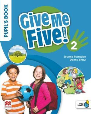 GIVE ME FIVE 2 PUPIL'S BOOK PACK